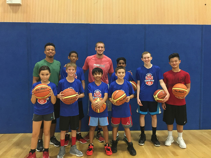 Jeff Becker Visits Camp Asia