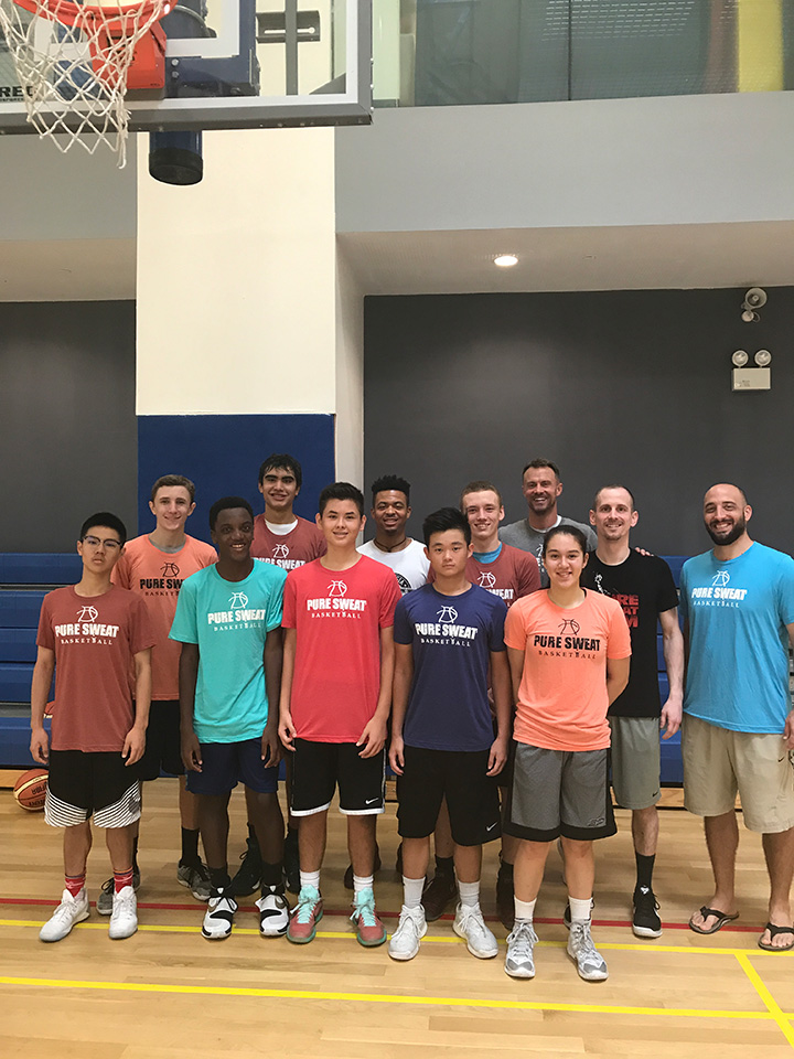 Pure Sweat Basketball Skill Development and Conditioning Clinic